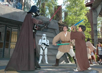 Instructions – Jedi Training Academy at Hollywood Studios