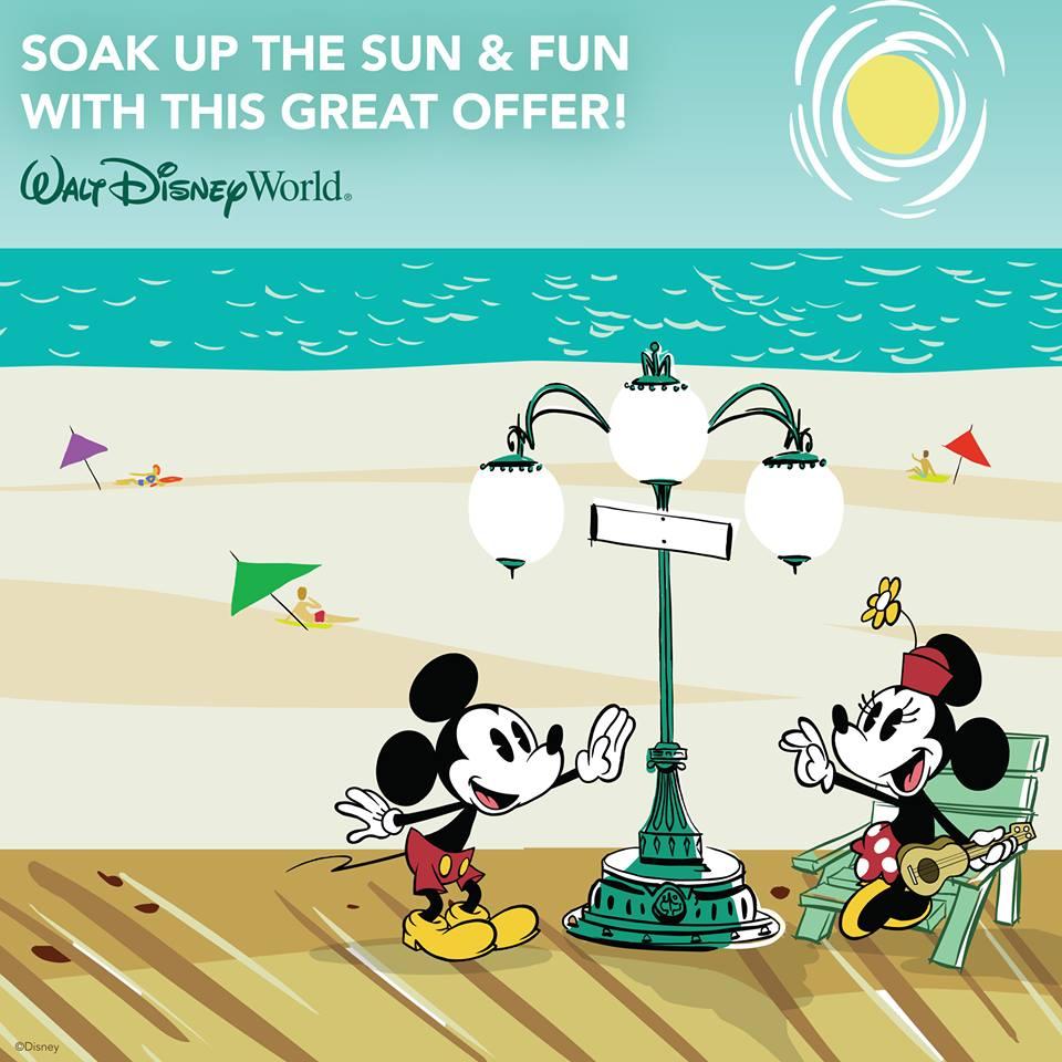 Walt Disney World® Early Summer 2017 Offer
